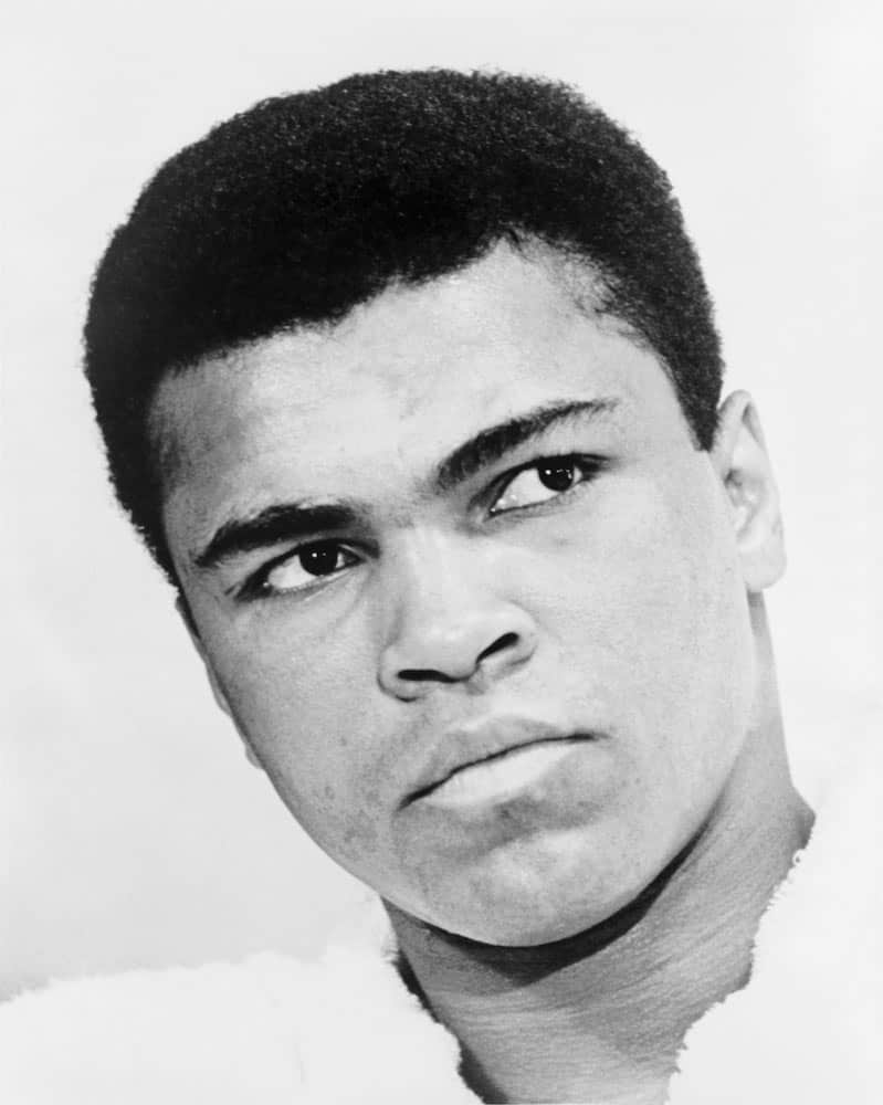 Muhammad Ali Potrait 1967