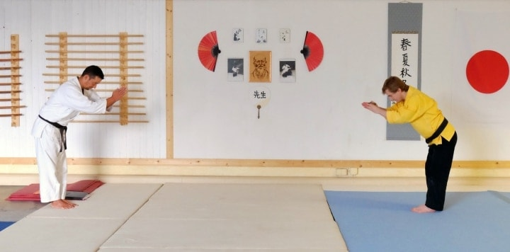 Budo-Pädagogik lehrt Respekt im Umgang mit Menschen