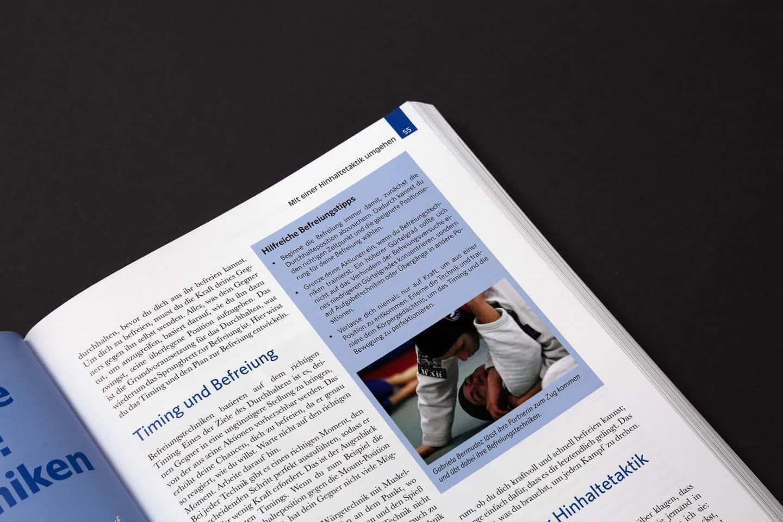 Das große Jiu Jitsu Buch Auszug Blaugurt