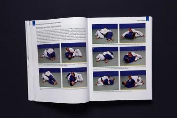 Das große Jiu Jitsu Buch Auszug Blaugurt Kesa Gatame