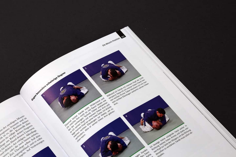 Das große Jiu Jitsu Buch Auszug Mount Position