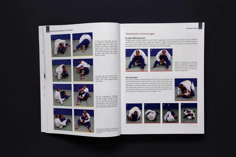 Das große Jiu Jitsu Buch Auszug Weißgurt