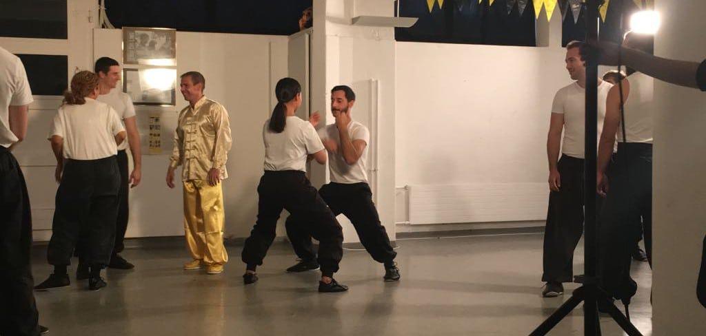 Filmdreh mit Martin Sewer Kung Fu 2017