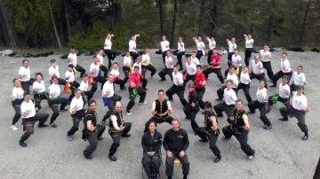 Hung Gar Kung Fu Lehrgang im Freien mit Sifu Martin Sewer