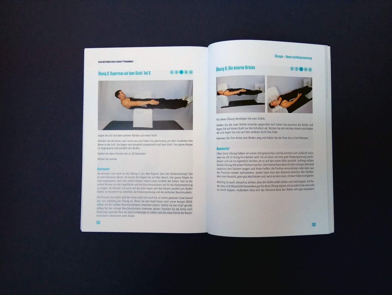 Isometrisches Krafttraining Übung