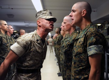 Kampfkunstlehrer oder Drill-Sergant?