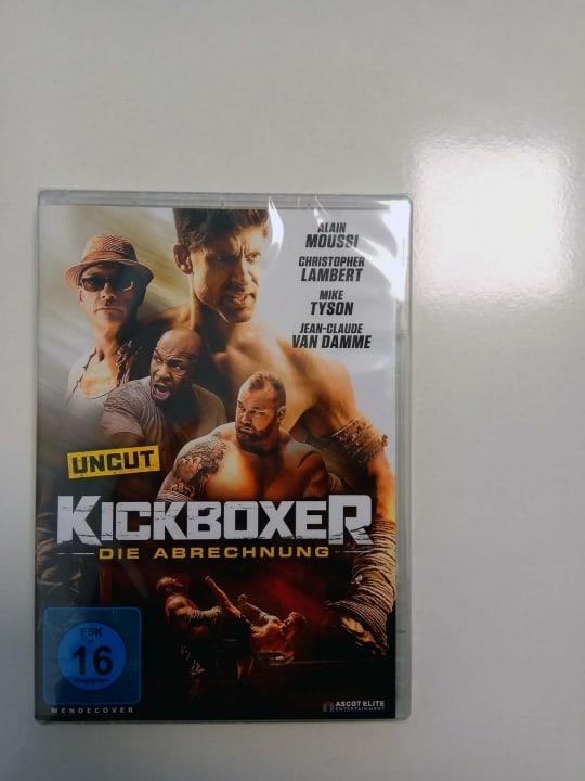Kickboxer - Die Abrechnung DVD Hülle