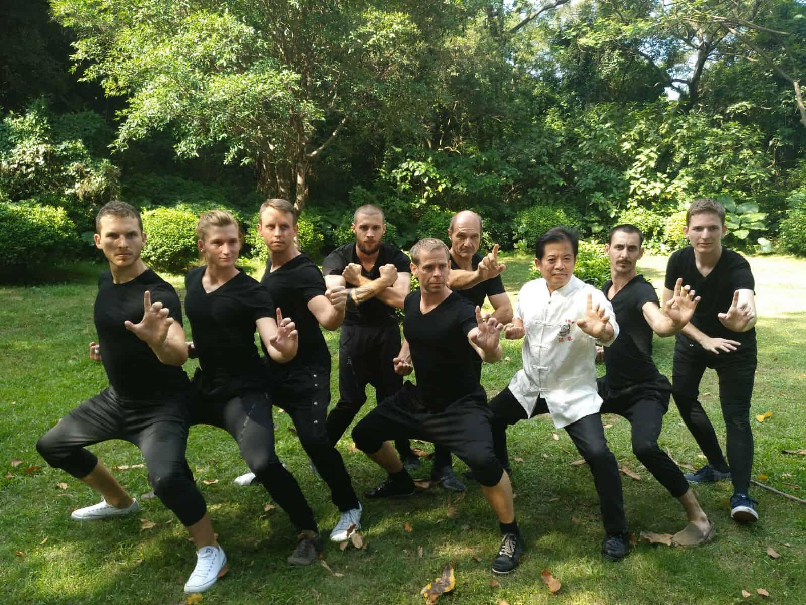 Martin Sewer Kung-fu Herbstlager 2016