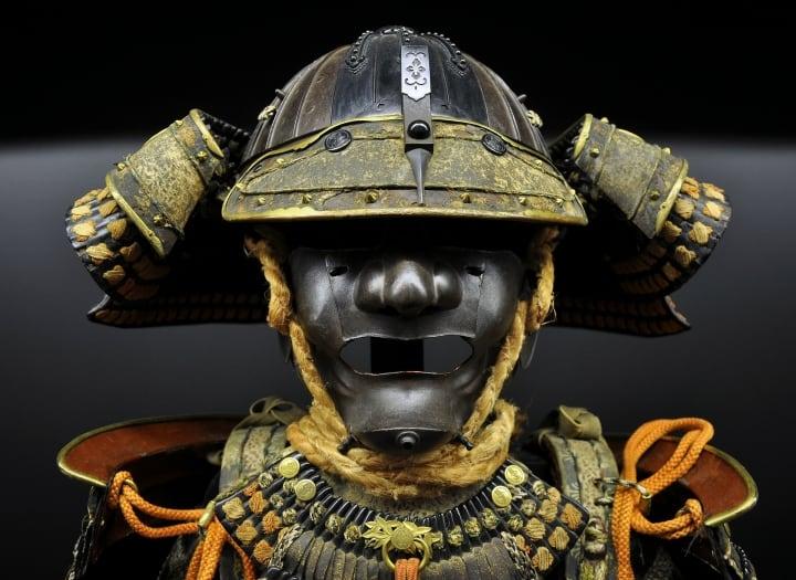 Original Samurai-Rüstung