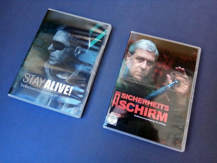 Selbstverteidigung zu Hause lernen – Die DVD's aus dem Sicherheitspaket