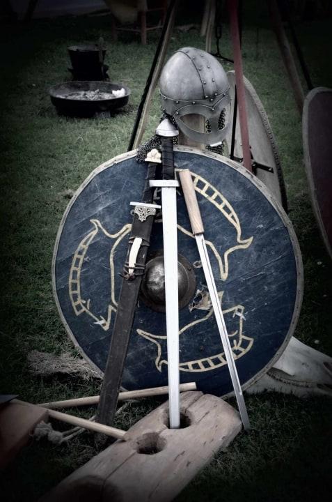 Die Ausrüstung eines Wikinger Kriegers