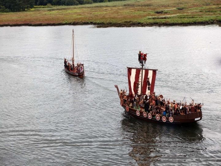 Auf zu neuen Ufern! Für mehr Reichtum und Ruhm!